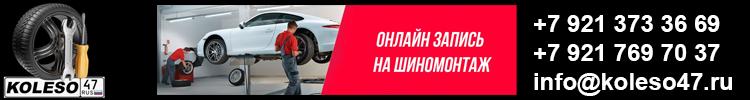"""Интернет-магазин шин и дисков """"koleso47.ru"""""""